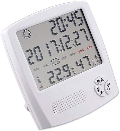Higrometro Digital Termometro Higrometro Digital Relojes Jardin Hogar Interior Hogar Habitación Del Bebé Creativo De Alta Precisión Temperatura Y Humedad Medidor Higrómetro: Amazon.es: Bebé