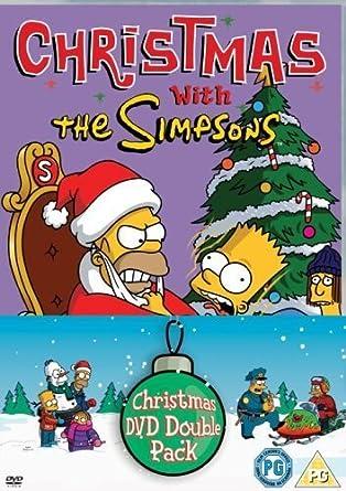 The Simpsons Christmas Dvd.Amazon Com The Simpsons Christmas 1 And 2 Box Set Dvd
