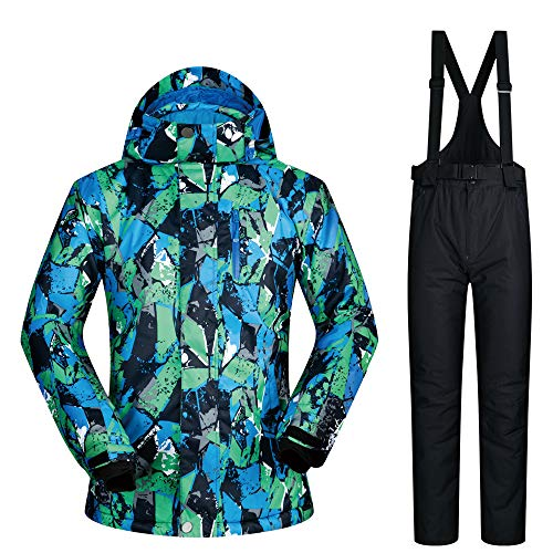 Thickened Jacket Men's E Ski Waterproof Warm Trousers XgXwAq61