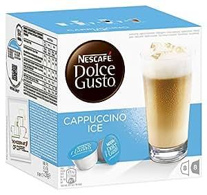 Nescafé Dolce Gusto - Cappuccino Ice - Cápsulas de Café - 16 Cápsulas