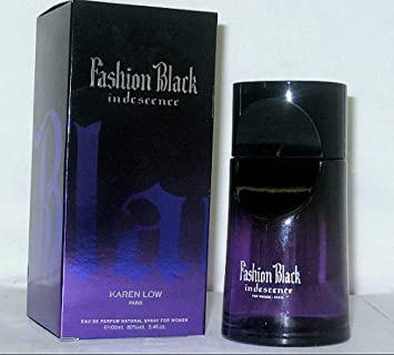 15e85729c Amazon.com: FASHION BLACK INDESCENCE BY KAREN LOW PERFUME FOR WOMEN ...