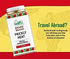 Prickly Heat Powder Snake Brand (Classic, 140 Gram)