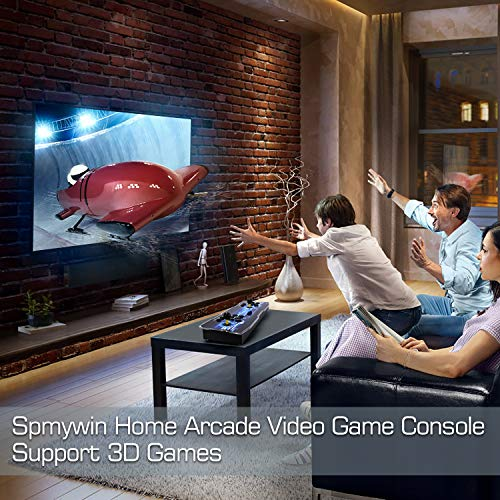 Spmywin 3D Pandora Box Arcade Video Game Console 1080P Game System Supports Alphabet Search Function User Add Games Function Advanced CPU by Spmywin (Image #1)