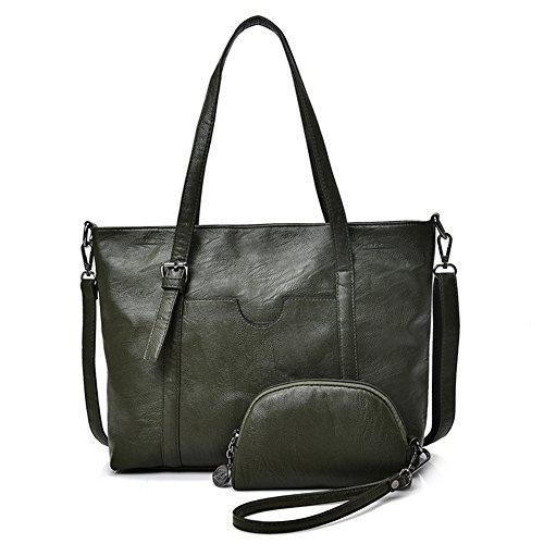 G-AVERIL - Bolso mochila para mujer granate verde