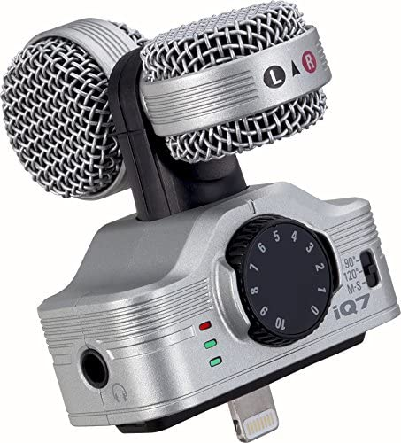 Zoom iQ7 Stereo Mid-Side Microphone