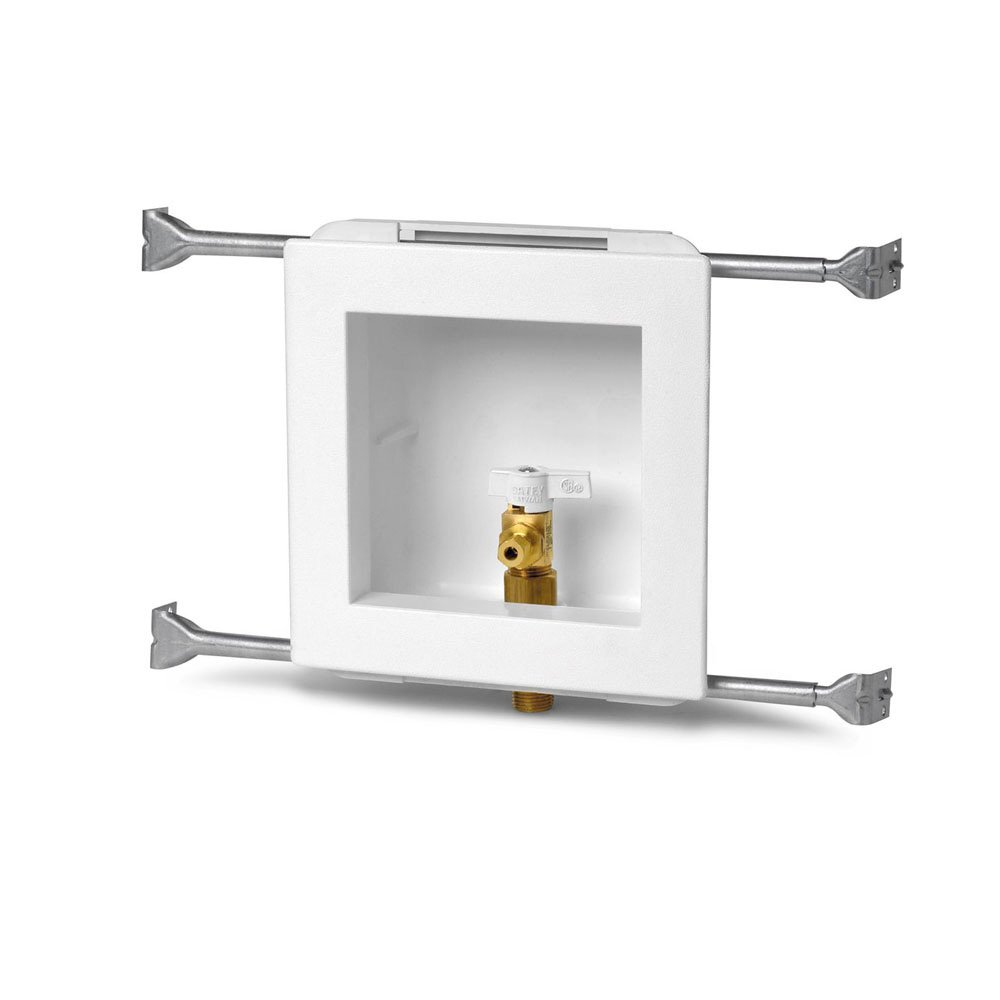 Oatey 38495 Plain Icemaker Outlet Box Without Faceplate or Brackets