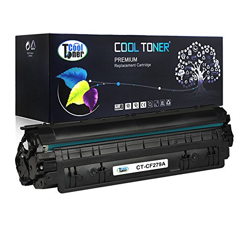 Cool Toner Compatible Toner Cartridge Replacement for HP 79A CF279A Compatible with HP LaserJet Pro M12w, M12a, MFP M26nw, M26a printer (Black, 1-Pack)