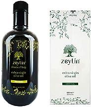 Zeytin Premium Extra Virgin Olive Oil - AWARDED I Early-Harvest I High Polyphenol of 350mg I VEGAN I KETO I Co
