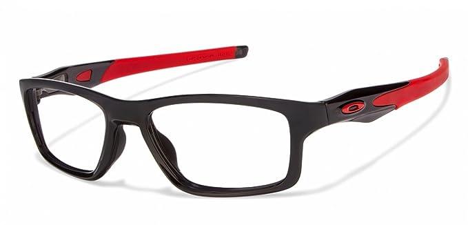 de22b9e731 ... usa oakley crosslink ox8090 0355 black red eyeglasses for men women  2cb71 7891f