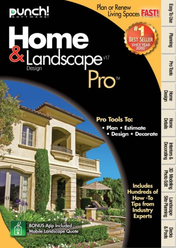 Price comparison product image Punch Home Landscape Pro Version 17
