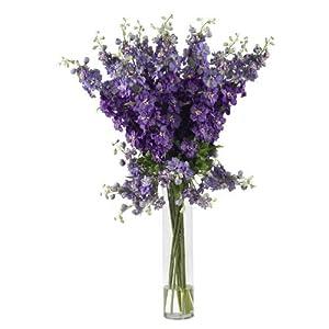 Delphinium Silk Flower Arrangement 14