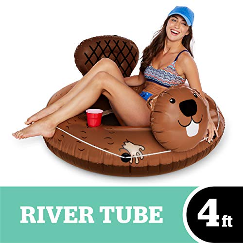 - BigMouth Inc Eager Beaver River Tube