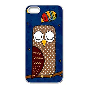 CHENGUOHONG Phone CaseCute Owl,Owl You Need is Love For Apple Iphone 5 5S Cases -PATTERN-8