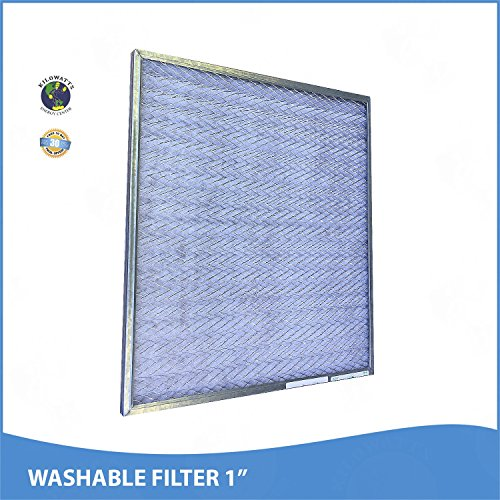 24x30x1 Washable Permanent A/C Furnace Air Filter by Kilowatts Energy Center (Image #1)