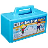 Ideal Sno-Brick Maker for Building Winter Snow Walls, Igloos and Castles, Assorted Colors