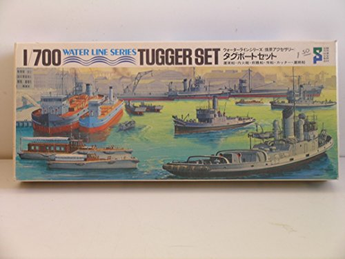 Scale Model Tugs - 1/700 Scale Water Line
