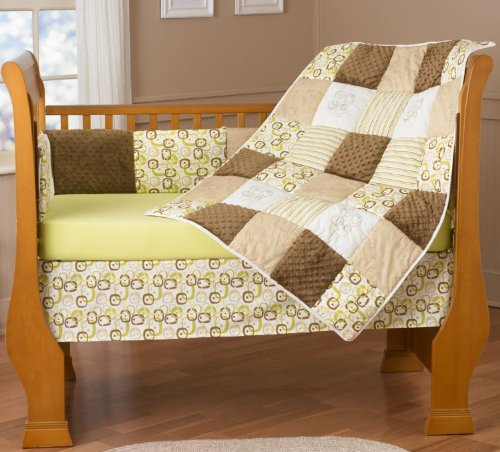 (Step by Step Chelsea Pear 4 Piece Bedding Set)