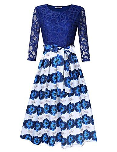 Sleeve Bowknot Women Dresses - 9