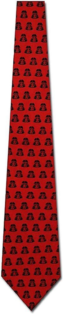 Corbata De Hombre Corbata,Darth Vader Corbata De Seda Roja Corbata ...
