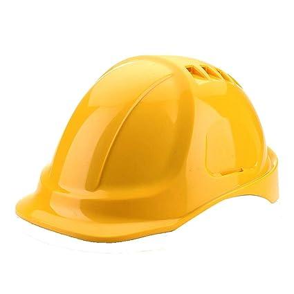 Mingteng Casco de Seguridad, Ajustable - Casco Protector Duradero, Forro de conexión de Seis