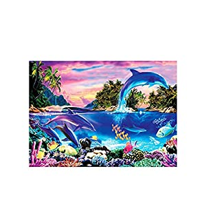 1000 Pieces of Jigsaw Puzzles and Styles, Suitable for Adults and Children. Good Choice for Parent-Child Games.