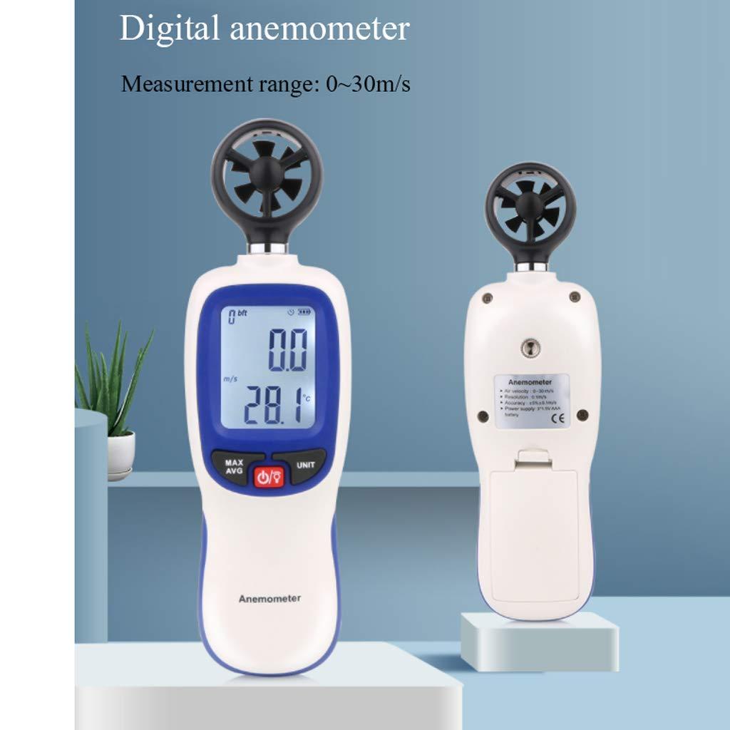 Estaciones meteorológicas portátiles Anemómetro digital ...