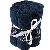 Houston Texans Towel Navy Blue 6-Pack Team Washcloth Set