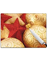 Want A Very Merry Christmas v102 Standard Cutting Board occupation