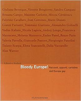 Book Bloody Europe! Racconti, appunti, cartoline dall'Europa gay