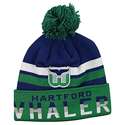 "Mitchell & Ness NHL ""Levels"" Ball Top Knit Hat"