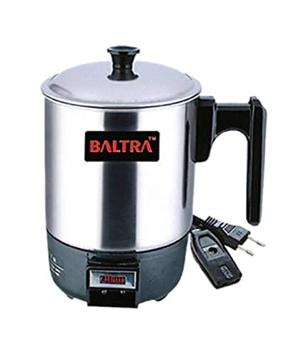 Baltra BHC-101 300 W 0.8 L Stainless Steel Electric Kettle, Multicolour