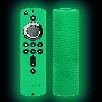 Funda de silicona para mando a distancia, antiderrapante, a prueba de golpes, para Amazon Fire TV Stick 4K, control remoto protector: Amazon.es: Bricolaje y herramientas