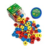 Letter for Making Words Alphabet Spelling Tiles Identification Teaching Manipulative Autism ASD