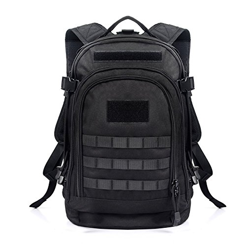 YAKEDA 600d Waterproof Polyester Backpack, Waterproof Military Backpack Tactical Backpack ,3 Day Expandable Backpack--A88051
