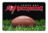 Tampa Bay Buccaneers Classic NFL Football Pet Bowl Mat - L,One Size,Brown
