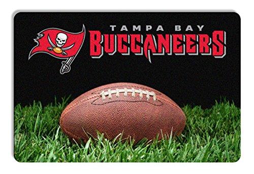 Tampa Bay Buccaneers Classic NFL Football Pet Bowl Mat - L,One Size,Brown (Nfl Team Pet Mat)