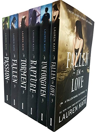 Lauren kate fallen series 6 books collection set (Lauren Kate Fallen In Love)