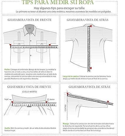 Guayabera 3/4 Sleeve for Ladies. Regular Linen. Runs Big. at ...