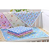 Baby And Toddler Waterproof Washable Diaper Changing Mat Pad Assorted Sizes (M (50cm*68cm))
