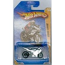 HOT WHEELS 2010 NEW MODELS 17 OF 44 WHITE DUCATI 1098R MOTORCYCLE