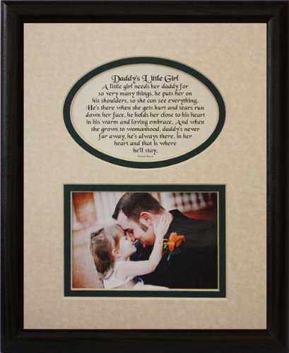 Amazon Com 8x10 Daddy S Little Girl Picture Poetry Photo Gift
