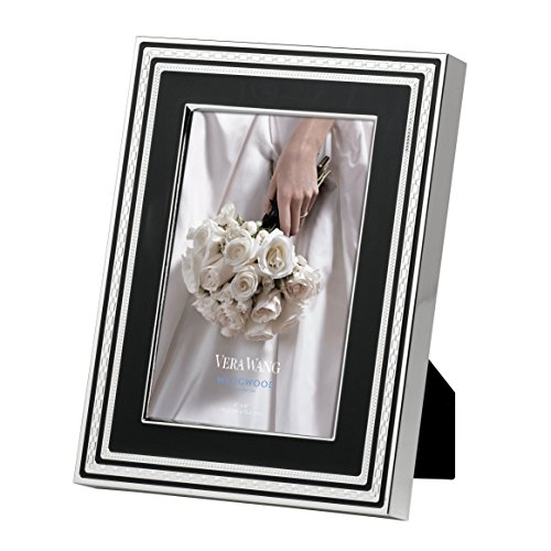 Wedgwood by Vera Wang With Love Frame - Noir - 4 x 6