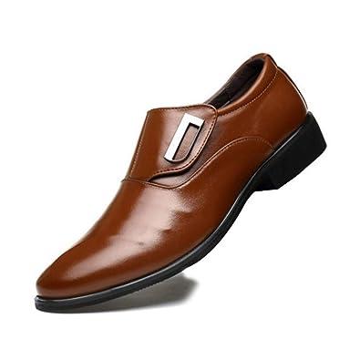 ba0865820413d Feidaeu Herren Slipper Anzugs Schuhe Business Gemütlich ...