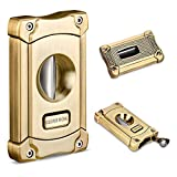CIGARLOONG Cigar Cutter Stainless Steel Sharpening