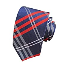 Eeleva New Classic Scottish Tartan/Plaid Silk Ties Wedding Necktie