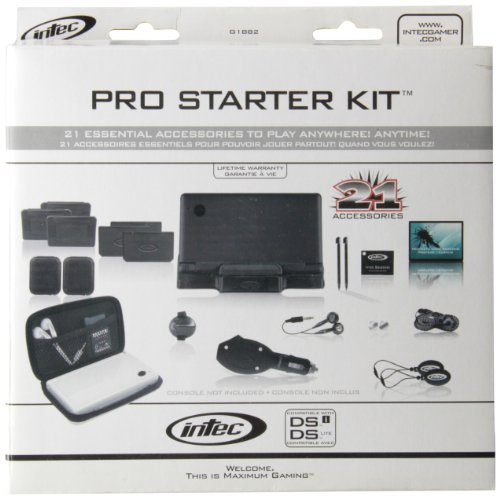 Intec DS Lite Pro Starter Kit- Black