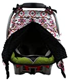 Dear Baby Gear Carseat Canopy, Tribal Print, Black Review and Comparison