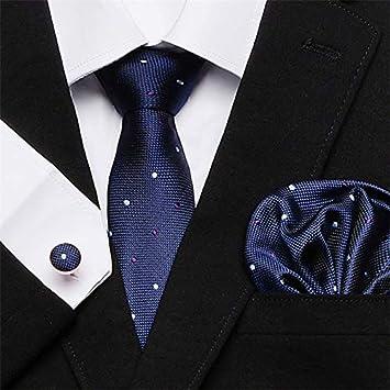 LUHELDM 7. cm Conjunto de Corbata de Seda Corbatas Florales ...