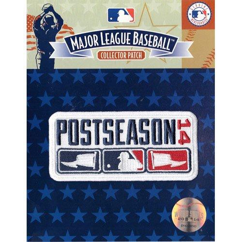 Official Mlb Baseball Patch (2014 Official MLB Major League Baseball Post Season Logo Jersey Sleeve)