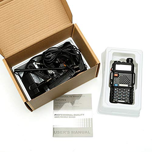 LDJC Walkie-Talkie, Portable Walkie-Talkie 8W High Power Voltage 7.2V DC 1800MAH Lithium Battery Frequency Stability 2.5PPM by LDJC (Image #6)